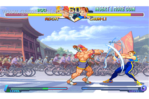 Street Fighter Alpha 2 - Arcade - Games Database