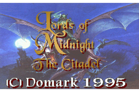 Lords of Midnight: The Citadel (1995) by Maelstrom MS-DOS game
