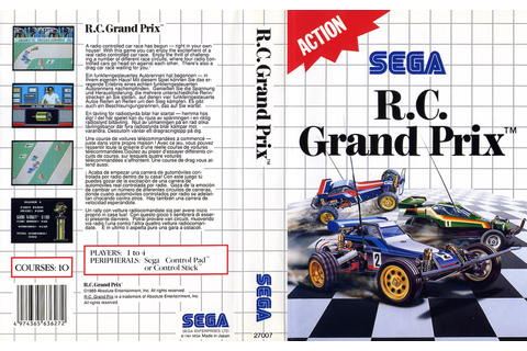 R.C. Grand Prix - Europe All sides - Scans - SMS Power!