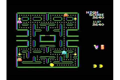 Pacman Plus Review ColecoVision (Pacman Collection) - YouTube
