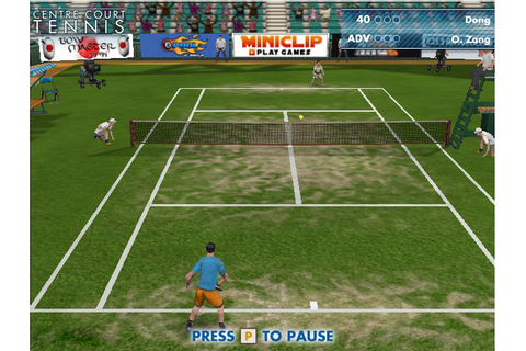 Game Centre Court Tennis | 337 Games - Play Games Online ...