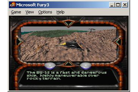 Fury3 Download (1995 Arcade action Game)
