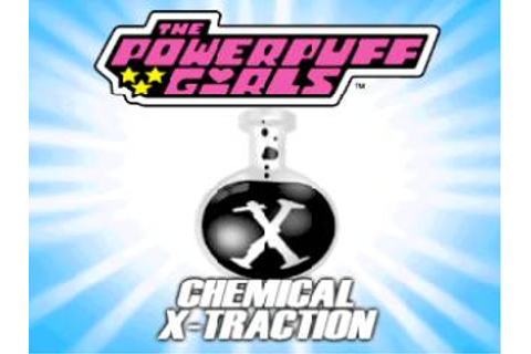 PowerPuff Girls Chemical X-Traction Nintendo 64 Game