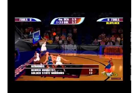 NBA HOOPZ DENVER NUGGETS VS. GOLDEN STATE WARRIORS (PS1 ...