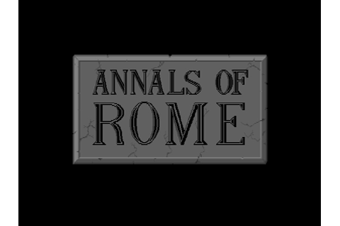 Annals of Rome Details - LaunchBox Games Database