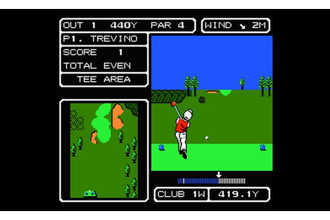 Play Lee Trevino's Fighting Golf (USA) • NES GamePhD