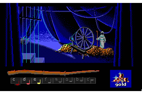Loom adventure for DOS (1990) - Abandonware DOS