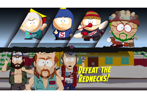South Park: The Fractured But Whole - Redneck Combat ...