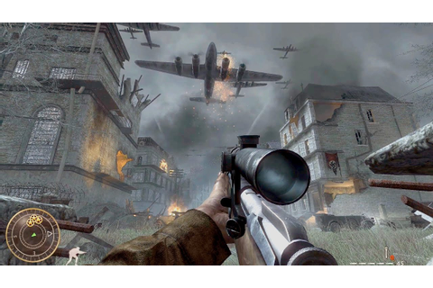 Call of Duty World at War - Vendetta Sniper Mission ...