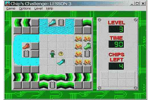 Bored at Work? Play Chip's Challenge, Right This Very ...
