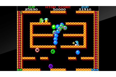 Arcade Archives BUBBLE BOBBLE sur PS4 | PlayStation™Store ...
