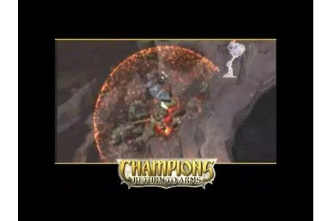 Champions: Return to Arms PlayStation 2 Gameplay - YouTube