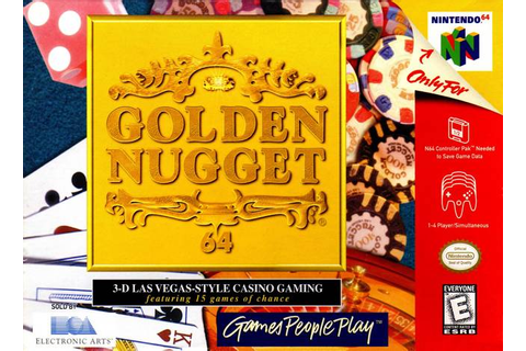 Golden Nugget 64 Nintendo 64 Game