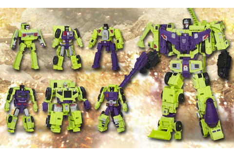 The Decepticons' Biggest Weapons Become Epic Hasbro Action ...