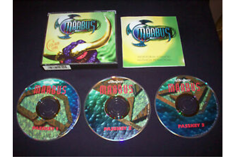Maabus PC Game Vintage Adventure Classic 1995 As Seen ...