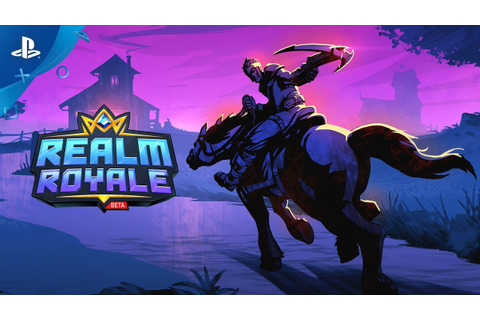 Realm Royale - Announce Trailer | PS4 - YouTube