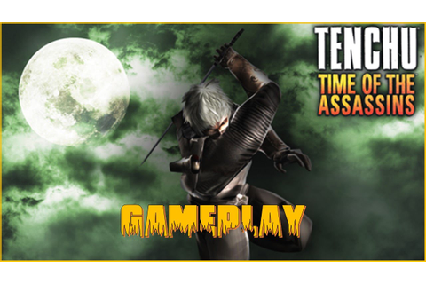 TENCHU: Time of the Assassins - PSP - Gameplay / Review ...