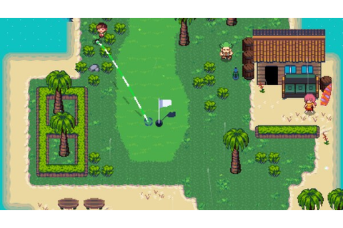 Golf Story announced for Switch - Gematsu