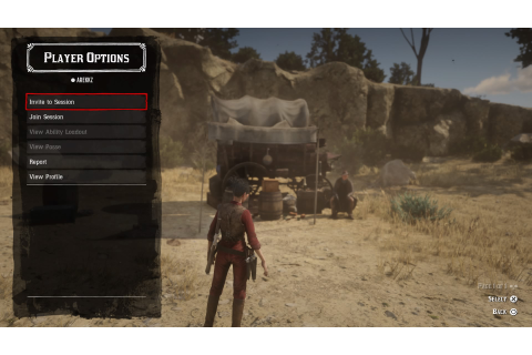 Red Dead Online: how to play with friends, join and invite ...
