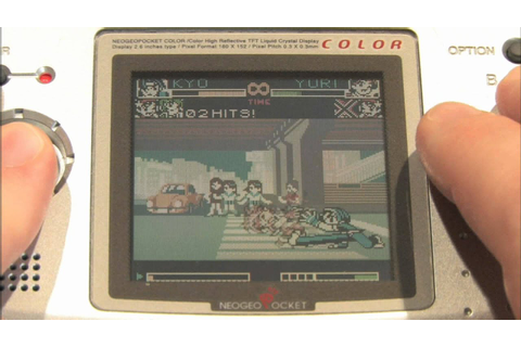 Classic Game Room - KING OF FIGHTERS R-2 Neo-Geo Pocket ...