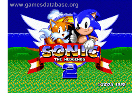 Sonic The Hedgehog 2 - Sega Genesis - Games Database