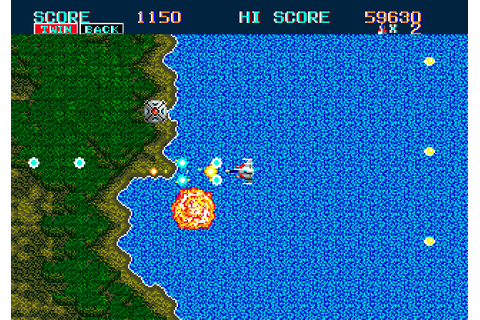 Thunder Force II MD (1989) by Tecnosoft Mega Drive game