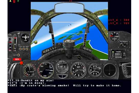 Blast from the Past - Air Warrior III Demo - YouTube