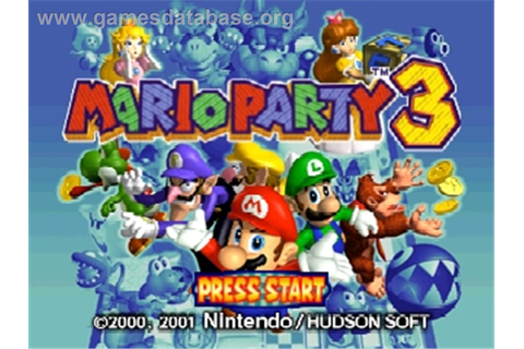 Mario Party 3 - Nintendo N64 - Games Database