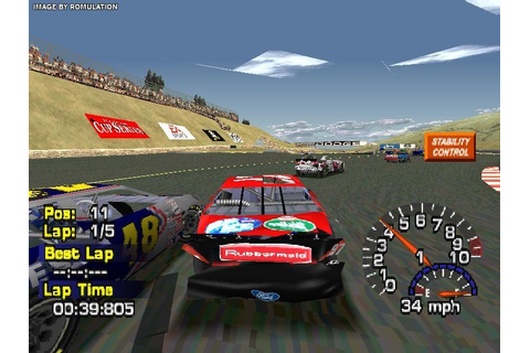 NASCAR Thunder 2004 (USA) PSX / Sony PlayStation ISO ...