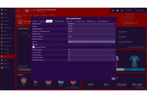 Football Manager 2019 In-Game Editor on Steam