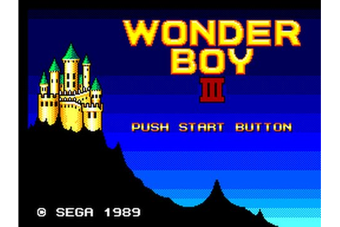 Master System Longplay [001] Wonder Boy III: The Dragon's ...