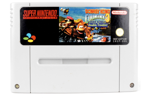 Donkey Kong Country 3: Dixie Kong's Double Trouble! - SNES ...