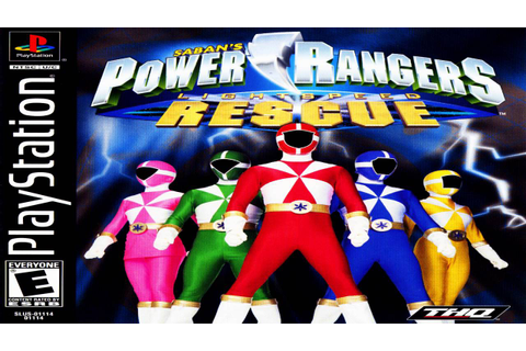 Power Rangers Lightspeed Rescue (PS1) OST (Gamerip ...