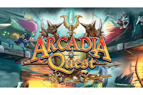 Arcadia Quest Board Game Review & How to Play - GamerNode ...