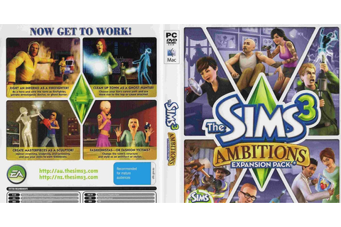 The Sims 3 Ambitions - ANAQIN GAME'S