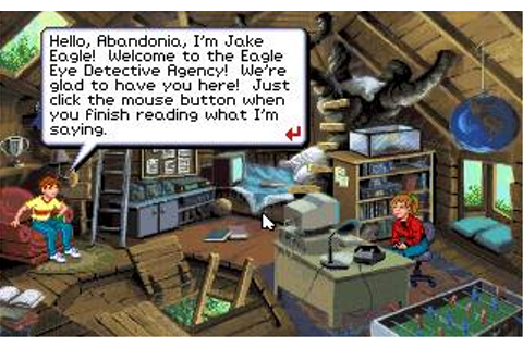 Eagle Eye Mysteries Download (1993 Educational Game)
