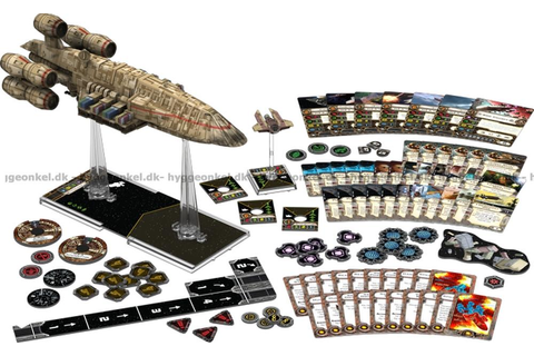 Star Wars: X-wing Miniatures Game - C-ROC Cruiser UDGÅET!!!