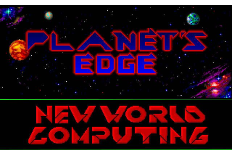 Download Planet's Edge rpg for DOS (1991) - Abandonware DOS