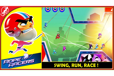 Rope Racers : Swing, Run, and Race ! (ios Gameplay) - YouTube