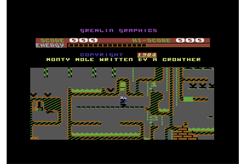 Download Wanted!: Monty Mole (Commodore 64) - My Abandonware