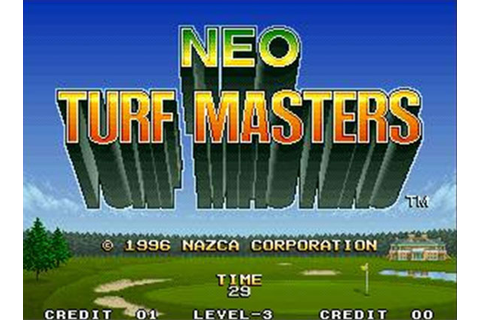 Neo Turf Masters Review for Neo Geo (1996) - Defunct Games