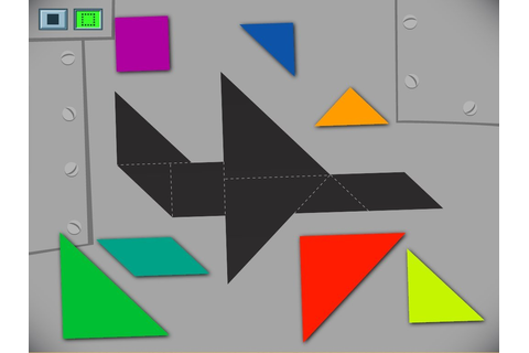 Airplane Tangram Game | Game | Education.com
