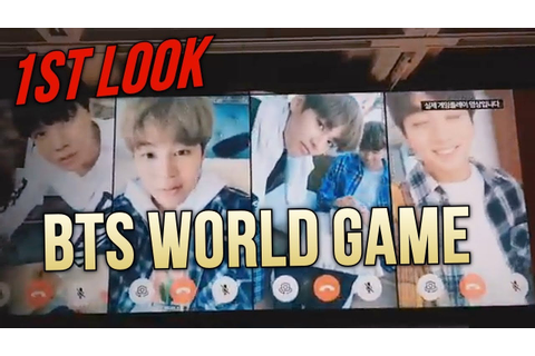 IKN (KPOP NEWS) 1st LOOK at BTS World Game, NCT 2018 ...