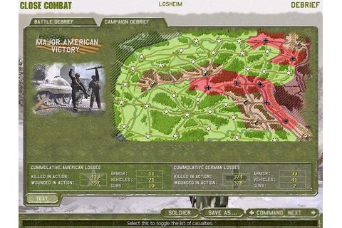 Close Combat 4: The Battle of the Bulge Download (1999 ...
