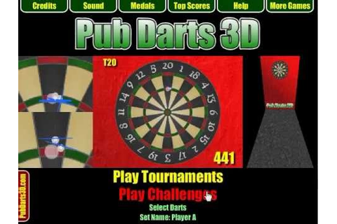 Pub Darts 3D (Online Darts Game) - YouTube