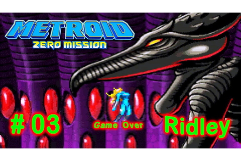Mr. Jogatina: Metroid - Zero Mission parte 3 :-: Ridley ...