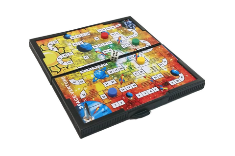 Pocket Travel Board Game UK Design SPACE VENTURE Magnetic ...