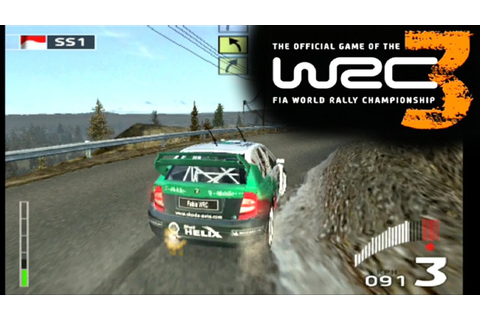 WRC 3: FIA World Rally Championship ... (PS2) - YouTube