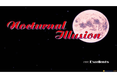 Nocturnal Illusion gameplay (PC Game, 1995) - YouTube