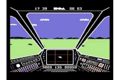 Skyfox [C64] - YouTube